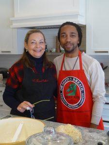 Janice & Adrian get baked